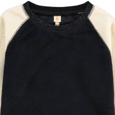Bellerose Sweat Façon Fourrure Bicolore Anzy-listing