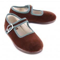 Bonton Velvet Bridle Socks-product