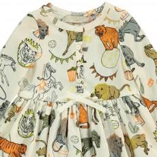 Stella McCartney Kids Fleur Circus Animals Dress   Bloomers-listing