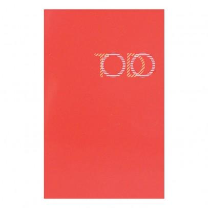 Le Typographe Block To-do-Liste rot lackiert 30 Blatt-listing