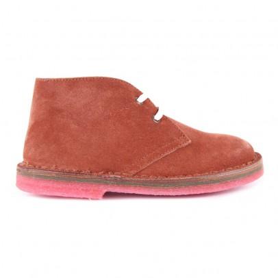 Pèpè Desert Boots Suède Semelle Rose-listing