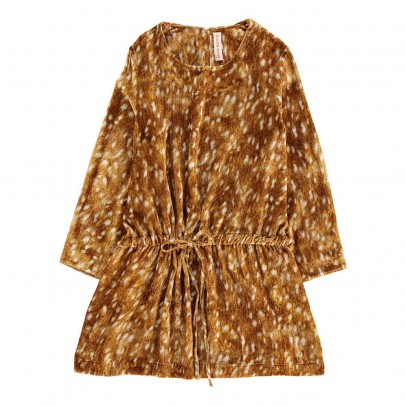 ANNE KURRIS Velour Bambi Ann Dress-listing
