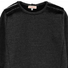 ANNE KURRIS Fur-Lined Molli Sweat Dress-listing