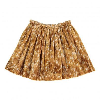 ANNE KURRIS Pleated Velour Bambi Trixy Skirt-listing