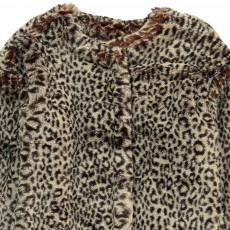 ANNE KURRIS Manteau Façon Fourrure Leopard Bunny-listing