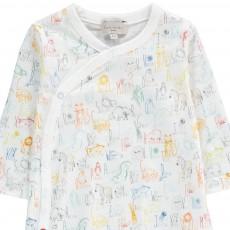 Paul Smith Junior Mittle Animal Alphabet Pyjamas-listing