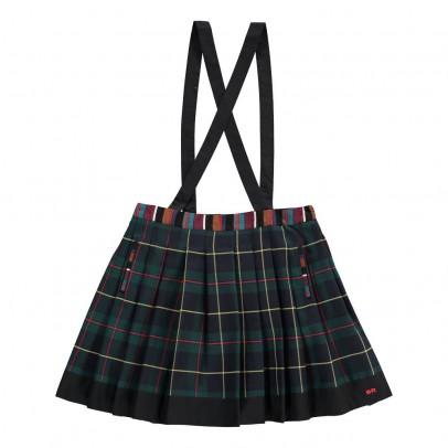 Rykiel enfant Tartan Skirt with Braces-listing