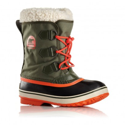 Sorel Fur-Lined Waterproof Nylon Yoot Pac Boots-listing
