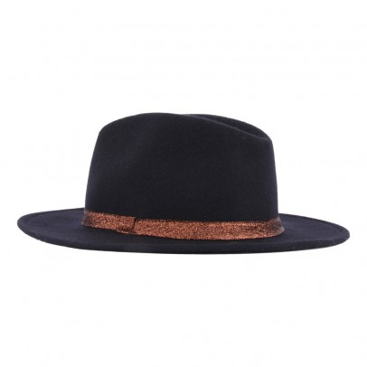 Soeur Felt Hat with Lurex Tie-listing