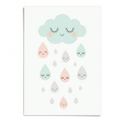 Zü Poster Douce pluie A3-listing