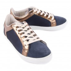 Craie Suede and Satin Just Trainers-listing