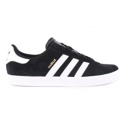 Adidas Suede Lace-Up Gazelle Trainers-listing