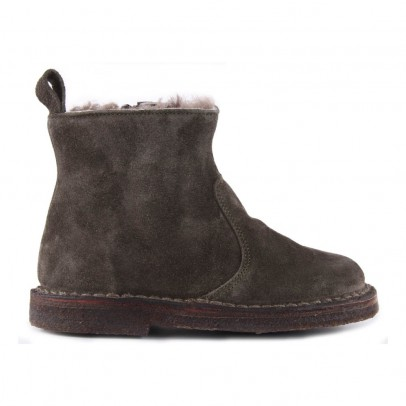 Pèpè Lined Suede Boots with Zip-listing