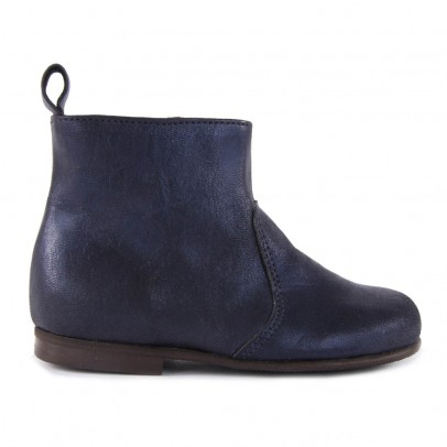 Pèpè Boots Zippées Suède-listing