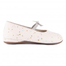product-Pèpè Star and Sequin Elasticated Ballerinas
