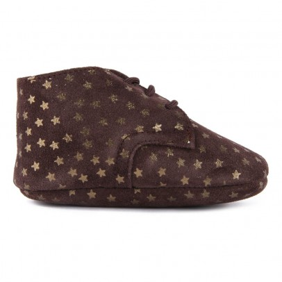 Pèpè Star Suede Wool Lined Slippers-listing