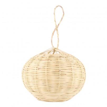 Smallable Home Hängelampe Leuchtkugel aus Korbweide 20cm-listing