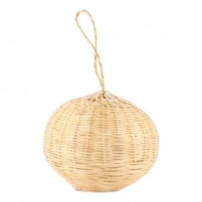 Smallable Home Suspension boule lumineuse en osier 25 cm-listing