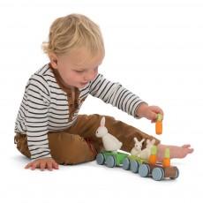 Le Toy Van El tren de la familia conejo-listing