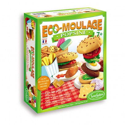 Sentosphère Popsine Junk Food Modelling Clay-listing