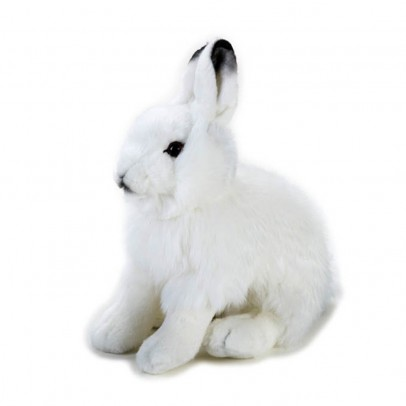 National Geographic Snow Rabbit Cuddly Toy 25cm-listing