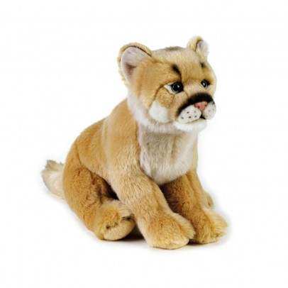 National Geographic Mountain Lion Cuddly Toy 25cm-listing