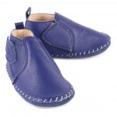 Easy Peasy Bomok Velcro Wing Leather Slippers-listing