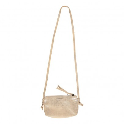 Easy Peasy Iridescent Leather Shoulder Pouch-listing