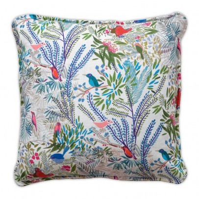 Little Cabari Jazz Linen Cushion 40x40cm-listing