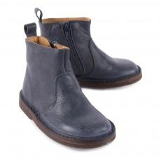 Pèpè Boots Zippées Cuir-listing