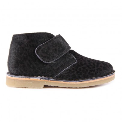 Petit Nord Panther Lined Velco Ankle Boots-listing