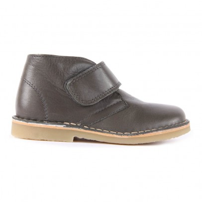 Petit Nord Velcro Leather Boots-listing