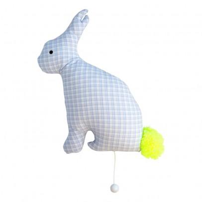 Léléwou Rabbit Pattern Musical Cushion-listing