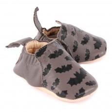 Easy Peasy Blumoo Batman Leather Slippers-listing