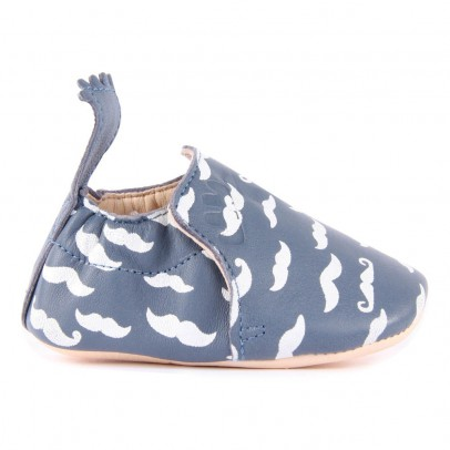 Easy Peasy Pantofole Pelle Baffi Blumoo-listing