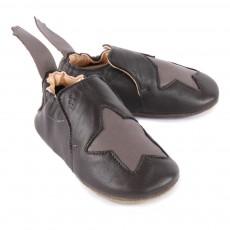 Easy Peasy Blublu Star Leather Slippers-listing