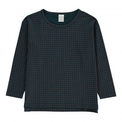 tinycottons Checked T-Shirt-listing
