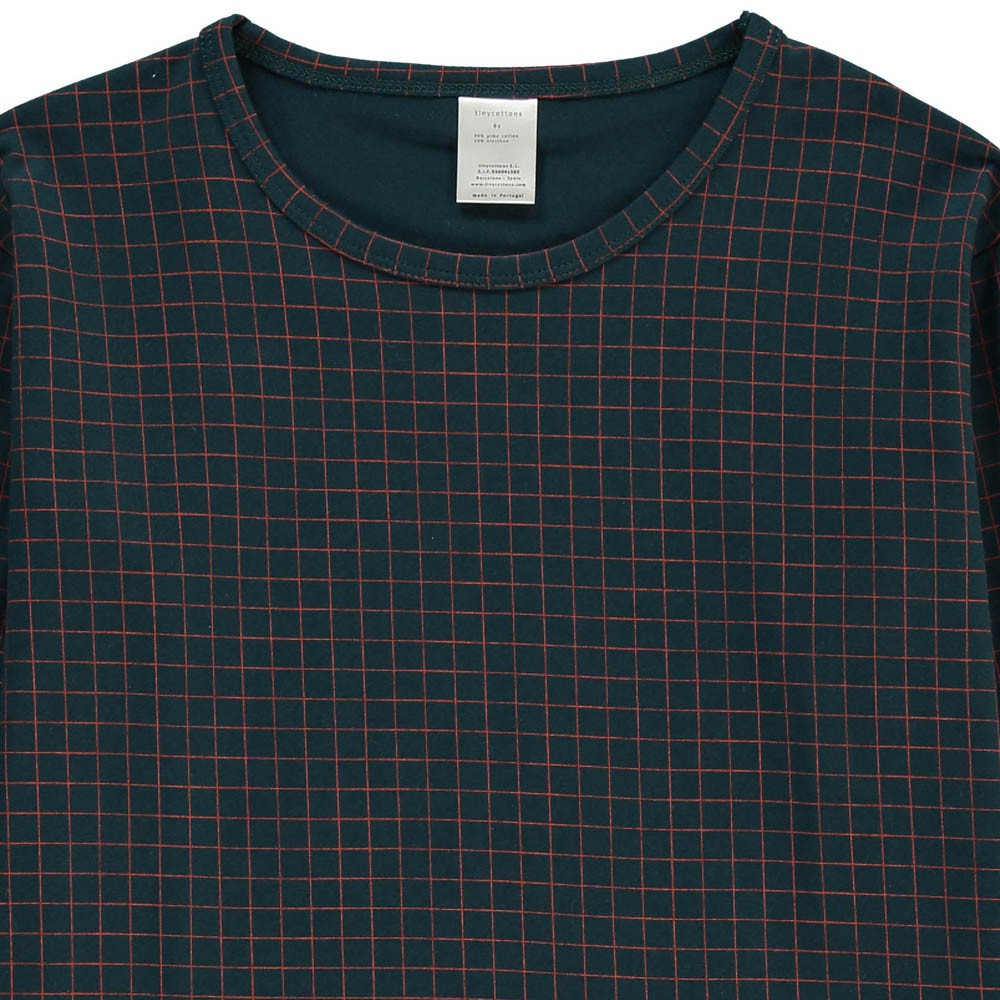 tinycottons Checked T-Shirt-product