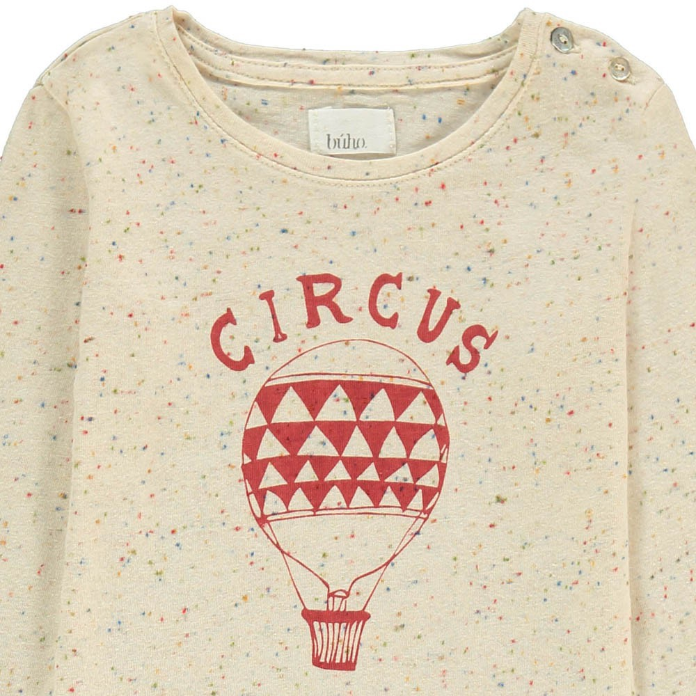 Buho Marl Fleck Hot Air Balloon T-Shirt-product