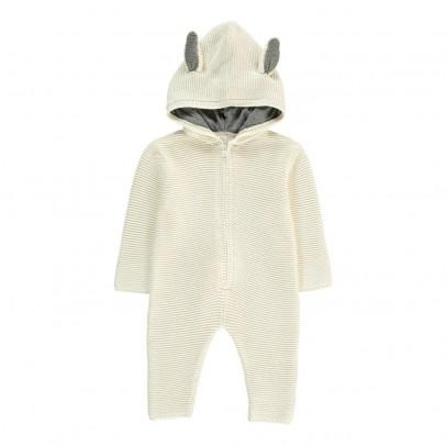 Stella McCartney Kids Acorn Rabbit Knit Jumpsuit-listing