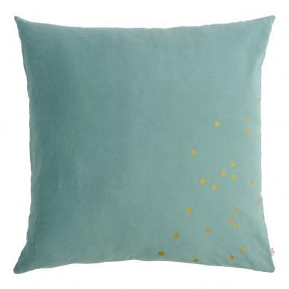 La cerise sur le gâteau Gold Polka Dot Lina Floor Cushion-listing