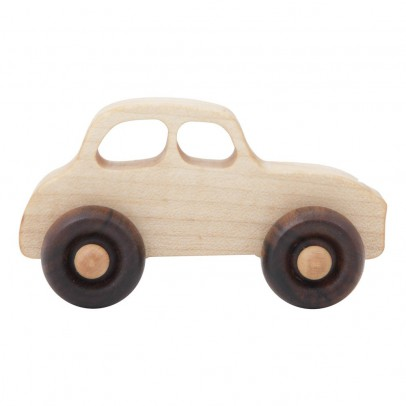 Wooden Story Voiture en bois style années 50-listing