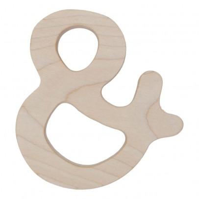 Wooden Story Anneau de dentition en bois &-listing