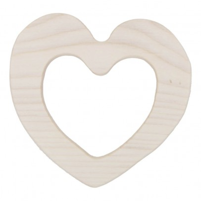 Wooden Story Beissring aus Holz Love -listing