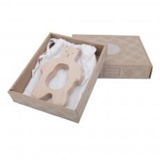 Wooden Story Beissring aus Holz Bär -listing