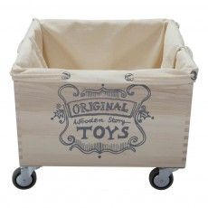 Wooden Story Plain Wooden Trolley Bag-product