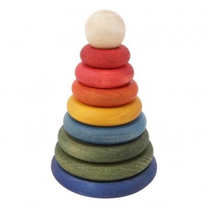 Wooden Story Jeux des formes empilables en bois rainbow-listing