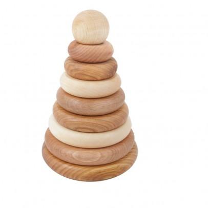 Wooden Story Juego de formas aplicables de madera natural-listing