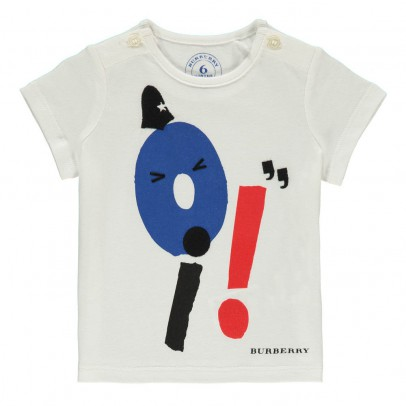 Burberry T-Shirt Mini Oi!-listing