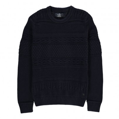 Hackett Pull Coton Tressé-listing
